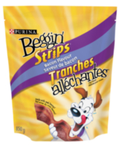 Purina Beggin' Strips® Bacon Dog Treats 850GR