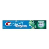 Crest Complete Extra White + Scope Outlast Long Lasting Mint Toothpaste