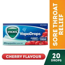 Vicks VapoDrops - 20 Drops CHERRY