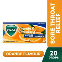 Vicks Vitamin C Orange Drops - 20 drops