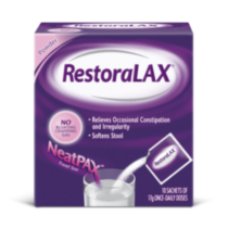 RestoraLAX® NeatPAX® Laxative Powder