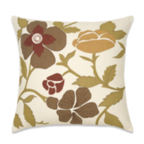 Cotton Printed Floral Cushion