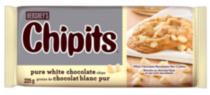 HERSHEY'S CHIPITS Chocolate Chips, Pure White Chocolate