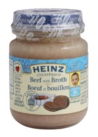 Heinz Stage 2 Strained Beef with Broth Baby Food