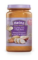 Heinz Junior Vegetable Pork and Apple Blend