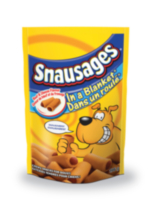 Snausages In a Blanket Beef and Cheese Flavour Chewy Snacks for Dogs