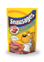 Snausages Canine Carry Outs Beef Flavour Chewy Snacks for Dogs