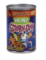 Heinz Scooby-Doo™ Whole Grain Pasta - Pasta Shapes in Tomato Sauce