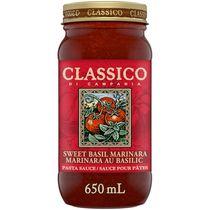 Classico Di Campania Sweet Basil Marinara Pasta Sauce