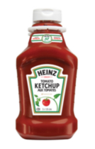 Ketchup aux tomates Heinz emballage duo