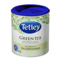 Tetley Naturally Decaffeinated Green Tea