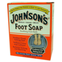 Johnson's Foot Soap Soothing Foot Bath
