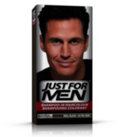 Just for Men H-55 Real Black Shampoo-in Haircolour