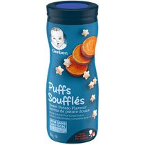 GERBER PUFFS, Sweet Potato, Baby Snacks