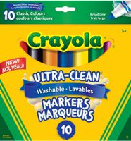 Crayola 8+2 Washable Markers