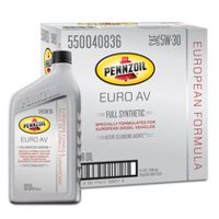 Pennzoil Platinum Euro AV SAE 5W-30 Full Synthetic Motor Oil