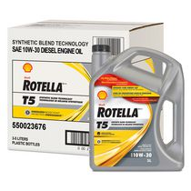 Rotella T5 Synthetic Blend SAE 10W-30 Diesel Engine Oil