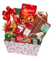 Baskets by On Occasion Candy Cane Craze Gift Basket