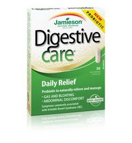 Jamieson Laboratories Digestive Care Daily Relief 30'S