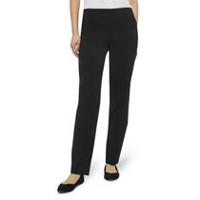 George Women's Pull On Comfort Bengaline Straight Dress Pant 4