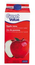 Great Value Apple Juice From Concentrate