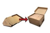 Push and Pak Kraft File/Storage Box