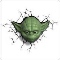 Star Wars 3D Wall Nightlight - Yoda