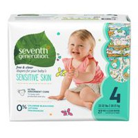 Seventh Generation Free & Clear Diapers Size 4