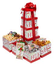 Baskets by On Occasion Happy Holidays Tower Gift Basket