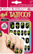 Sticko Glowing Nail Fairy Tattoos