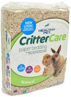 Critter Care Natural Paper Bedding