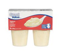 Great Value Tapioca Pudding
