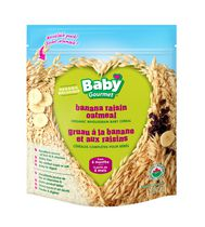 Banana Raisin Oatmeal Organic