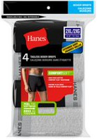 Hanes Men's Tagless 4-Pack Boxer Brief 2XL/3XL