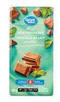 Great Value Mint Milk Chocolate