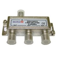 Digiwave 3-Way Splitter for 5-1000MHz (DGSCA6313)
