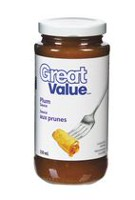 Sauce aux prunes de Great Value