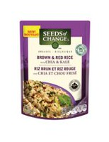 SEEDS OF CHANGE Organic Brown and Red Rice with Chia & Kale