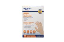 Equate Vinyl Powder-Free Exam Gloves