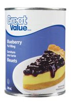 Great Value Blueberry Pie Filling
