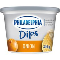 Trempette Philadelphia Oignon
