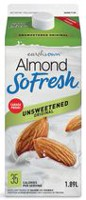 Earthsown Almond Fresh Unsweetened fortified almond beverage