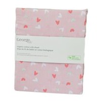 George baby Organic Cotton Crib Sheet