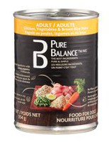 Pure Balance Adult Chicken Vegetables & Brown Rice Stew Dog Food