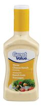 Great Value Three Cheese Ranch Dressing