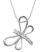 PAJ Sterling Silver Dragonfly Pendant