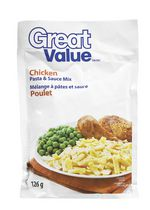 Great Value Chicken Pasta & Sauce Mix