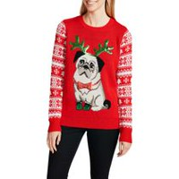George Women's Embellished Christmas Sweater M