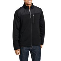 George Men's Fleece Jacket Black S