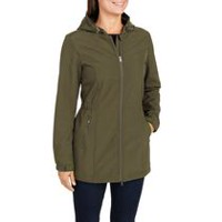 George Women's Long Softshell Jacket Olive XL